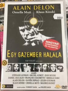 Mort du'n pourri DVD 1977 Egy gazember halála (Death of a Corrupt Man) / Directed by Georges Lautner / Starring: Alain Delon, Ornella Muti (5999551921351)