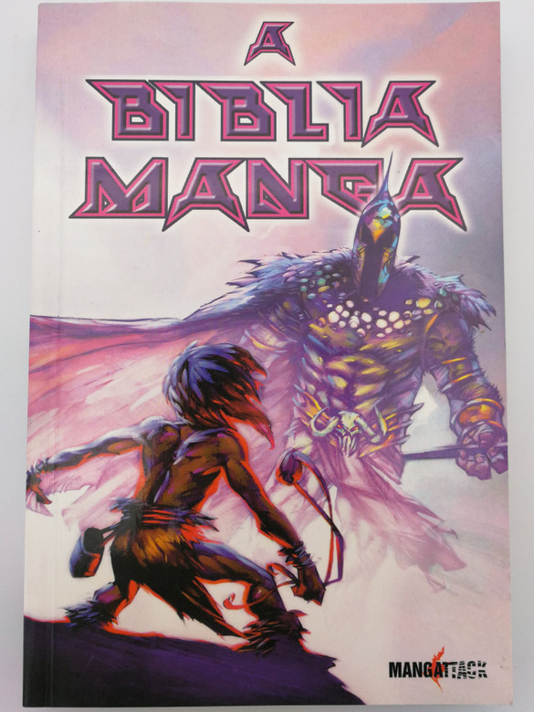 A Biblia Manga by Siku, Akin Akinsiku / Hungarian edition of The Manga Bible / Translated by Pap Zoltán - Sárközy Bence / Paperback 2008 / Athenaeum kiadó (9789639797796)