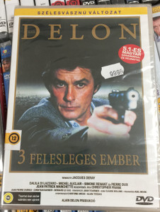 Trois Hommes a Abattre DVD 1979 Három felesleges ember / Directed by Jacques Deray / Starring: Alain Delon, Dalila Di Lazzaro / Three Men to Kill (5999553601305)