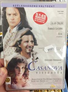 Le Retour de Casanova DVD 1992 Casanova visszatér (The Return of Casanova) / Directed by Édouard Niermans / Starring: Alain Delon, Elsa Lunghini, Fabrice Luchini (5999551921160)