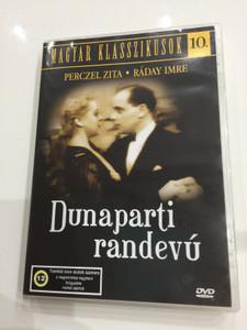 Dunaparti randevú DVD 1936 Rendez-vous at the Danube / Directed by Székely István / Starring: Perczel Zita, Ráday Imre, Csortos Gyula / Hungarian Classic Film / Magyar Klasszikusok 10. / (5999544560222)