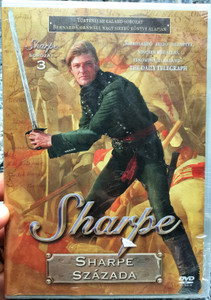 Sharpe Series 2. Sharpe's Company DVD 1993 Sharpe Sorozat 2. Sharpe százada / Directed by Tom Clegg / Starring: Sean Bean, Brian Cox, Daragh O'Malley, Assumpta Serna, David Troughton (5996473004407)