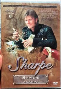 Sharpe Series 6. Sharpe's Gold DVD 1993 Sharpe Sorozat 6. Sharpe aranya / Directed by Tom Clegg / Starring: Sean Bean, Brian Cox, Daragh O'Malley, Assumpta Serna, David Troughton (5996473005336)