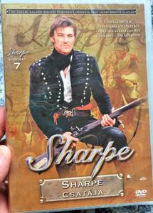 Sharpe Series 7. Sharpe's Battle DVD 1993 Sharpe Sorozat 7. Sharpe csatája / Directed by Tom Clegg / Starring: Sean Bean, Brian Cox, Daragh O'Malley, Assumpta Serna, David Troughton