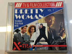 Tv & Film Collection Vol 1. / 16 Great TV & Film Hits Audio CD / Pretty Woman, James Bond, Beverly Hills Cop / PK 510 (5708574347280)