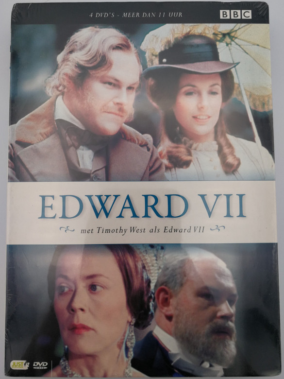 Edward VII 4 DVD Box 1979 Edwad the Seventh TV Series / Directed by John Gorrie / Starring: Timothy West, Annette Crosbie, Helen Ryan, Robert Hardy, Felicity Kendal (8717344736336)