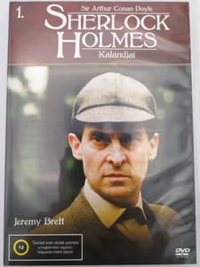 The Adventures of Sherlock Holmes 1. DVD Sherlock Holmes Kalandjai / Directed by Alan Grint, Paul Anett, John Bruce, David Carson / Starring: Jeremy Brett, John Hawkesworth, Jeremy Paul, David Burke / Granada TV Series / 2 Episodes on DVD (5999545585484)