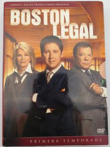 Boston Legal DVD BOX 2004 5DVD First Season - Primera Temporada / Created by David E. Kelley / Starring: James Spader, William Shatner, Candice Bergen, Monica Potter (8420266927101)