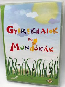Gyerekdalok és Mondókák (DVD) Rövid animációs filmek az ismert és szeretett magyar művekről 2010 (5999883320990)