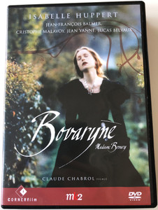 Madame Bovary DVD 1991 Bovaryné / Directed by Claude Chabrol / Starring: Isabelle Huppert, Jean-Francois Balmer, Christophe Malavoy (5999883749166)