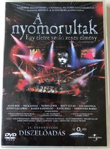 Les Miserables the Musical Event of a Lifetime DVD 2010 A nyomorultak - egy életre szóló zenés élmény / Directed by Nick Morris / Conducted by David Charles Abell / In Concert - The 25th Anniversary / 25. születésnapi díszelőadás (5996051052264)