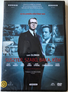 Tinker Tailor Soldier Spy DVD 2011 Suszter, Szabó, Baka, Kém / Directed by Tomas Alfredson / Starring: Gary Oldman, Colin Firth, Tom Hardy, John Hurt, Benedict Cumberbatch (5999560930283)