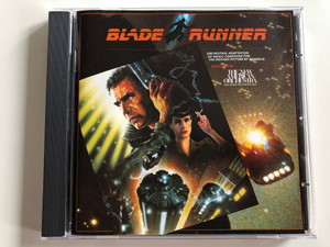Blade Runner / Orchestral Adaptation Of Music Composed For The Motion Picture By Vangelis / Performed By The New American Orchestra ‎/ Musical Director: Jack Elliott / WEA ‎International Inc. Audio CD 1982 / 2292-50002-2