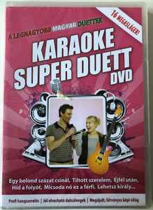 Karaoke Super Duett DVD 2010 A Legnagyobb Magyar Duettek / 16 Megasláger / The Greatest Hungarian Duetts- Super Karaoke - 16 Mega hits / RMDVD 833 (5999883602331)