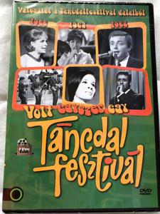 Volt Egyszer egy Táncdalfesztivál DVD / Válogatás a Táncdalfesztivál dalaiból (1966,1967,1968) (5999542819599)