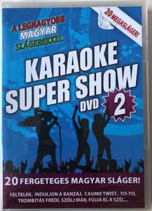 Karaoke Super Duett 2. DVD 2010 A Legnagyobb Magyar Duettek / 20 Fregeteges Magyar Sláger! / The Greatest Hungarian Duetts- Super Karaoke vol 2 - 20 Mega hits / RMDVD 826 (5999883602270)