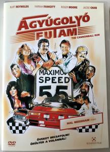 The Cannonball Run DVD 1981 Ágyúgolyó futam / Directed by Hal Needham / Burt Reynolds, Roger Moore, Farrah Fawcett, Dom DeLuise, Dean Martin (59995442511137)