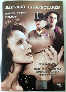 Smouldering Cigarette - Hamvadó cigarettavég DVD 2001 / Directed by Bacsó Péter / Starring: Nagy-Kalózy Eszter, Rudolf Péter, Cserhalmi György (5996255709254)