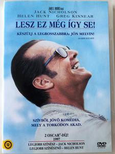 As good as it gets DVD 1997 Lesz ez még így se! / Directed by James L. Brooks / Starring: Jack Nicholson,Helen Hunt, Greg Kinnear, Cuba Gooding Jr. (5996255731910)