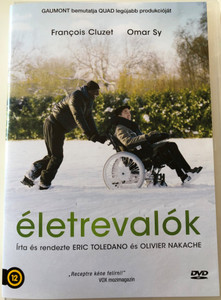 Intouchables DVD 2011 Életrevalók / Directed by Olivier Nakace, Éric Toledano / Starring: François Cluzet, Omar Sy (5999542819643)