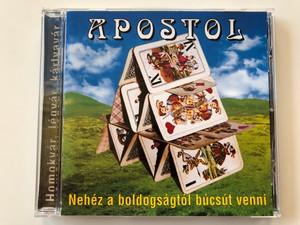 Apostol Együttes - Homokvár, légvár, kártyavár - Nehéz A Boldogságtól Búcsút Venni / Magneoton Audio CD 1998 / 3984-26106-2 (0639842610629)