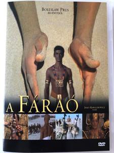 Faraon (Pharaoh) DVD 1966 A Fáraó / Directed by Jerzy Kawalerowicz / Starring: Jerzy Zelnik, Wiesława Mazurkiewicz, Barbara Brylska, Krystyna Mikołajewska (5996051435692)