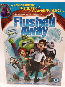 Flushed Away [DVD] Best Animated Movie of 2007 / Bonus Content - The Super All-Singing Slugs (5051189133435)