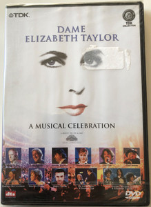 Dame - Elizabeth Taylor DVD 2001 A Musical Celebration / Featuring John Barry, Tony Bennett, Andrea Bocelli, Jay Kay (5450270005185)