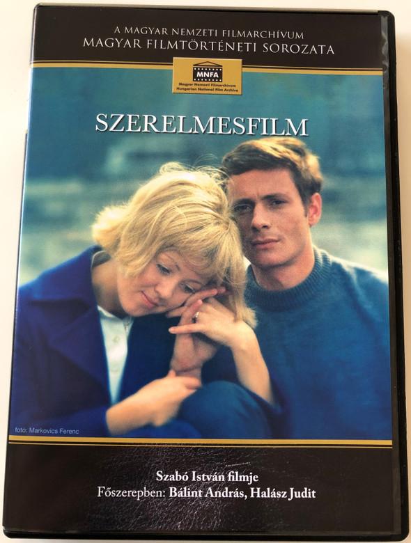 Szerelmesfilm DVD 1970 Lovefilm / Directed by Szabó István / Starring: Bálint András, Halász Judit / Hungarian Film / Magyar Filmtörténeti sorozat (5999884681090)