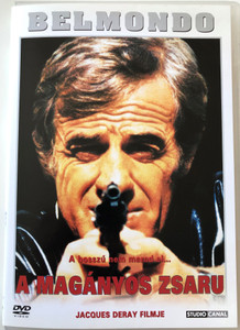 Le Solitaire (The Loner) DVD 1987 A Magányos Zsaru / Directed by Jacques Deray / Starring: Jean-Paul Belmondo, Jean-Pierre Malo, Michael Beaune / Belmondo Sorozat (5999546330274)