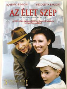 La vita é bella DVD 1997 Az élet szép (Life Is Beautiful) / Directed by Roberto Benigni / Starring: Roberto Benigni, Nicoletta Braschi (5999075601623)