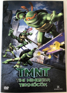 TMNT - Teenage Mutant Ninja Turtles DVD 2007 Tini Nindzsa Teknőcök / Directed by Kevin Munroe / Starring: James Arnold Taylor, Nolan North, Mikey Kelley , Mitchell Whitfield, Chris Evans, Sarah Michelle Gellar (5999544251991)