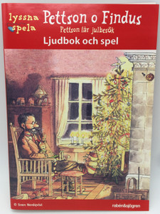 Pettson o Findus : Pettson får julbesök - Ljudbok och spel (CD-ROM) Pettson and Findus: Findus at Christmas - Audiobook and Games in Swedish by Sven Nordqvist (9789129671582)