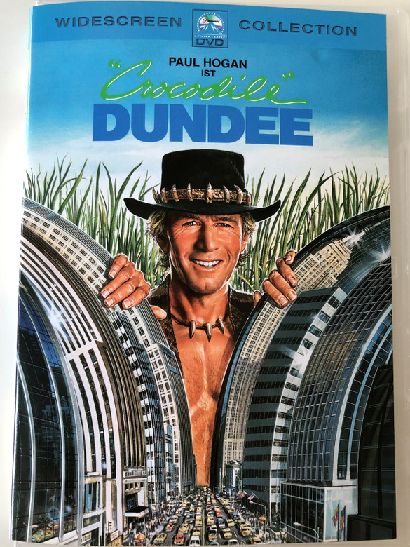 Crocodile Dundee DVD 1986 / Directed by Peter Faiman / Starring: Paul Hogan, Linda Kozlowski, Mark Blum (4010884524697)