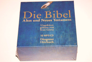 German Audio Bible on 10 MP3-CD / Die Bibel Altes und Neues Testament