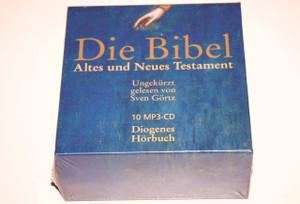 German Audio Bible on 10 MP3-CD / Die Bibel Altes und Neues Testament