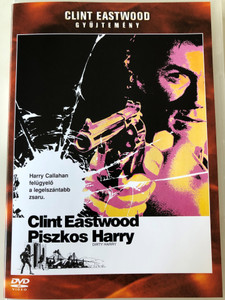 Dirty Harry DVD 1971 Piszkos Harry / Directed by Don Siegel / Starring: Clint Eastwood, Harry Guardino, Reni Santoni, Andy Robinson (5999048907219)
