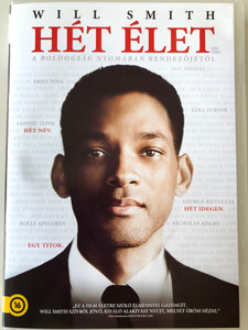 Seven Pounds DVD 2008 Hét élet / Directed by Gabriele Muccino / Starring: Will Smith, Rosario Dawson, Michael Ealy, Barry Pepper (5996255731811)