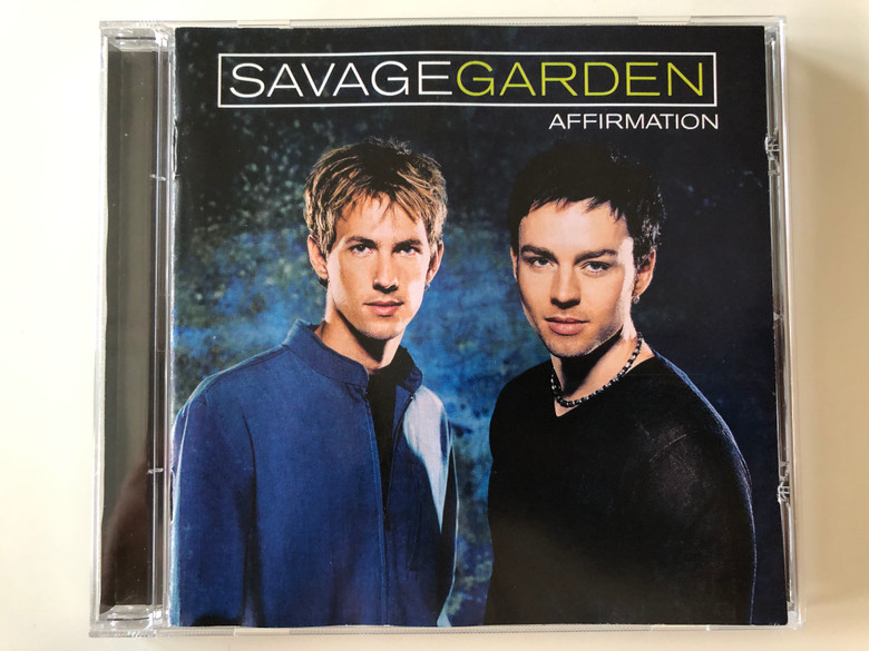 Savage Garden ‎– Affirmation / Sony Music Entertainment Audio CD 1999 / COL 494935 2