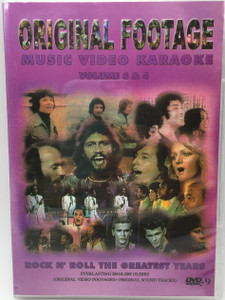 Original Footage Music Video Karaoke DVD Volume 3 & 4 (DVD) Rock N' Roll The Greatest Years (073243834010)