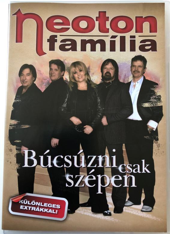 Neoton família DVD 2010 Búcsúzni csak szépen / Apám szólt, Tini dal, a legkisebb fiú, Gondolj néha rá, Yoyo, Holnap hajnalig / Magneoton (5999884690160)