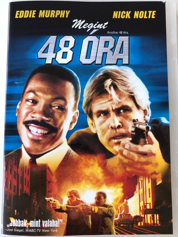 Another 48 Hrs. DVD 1990 Megint 48 óra / Directed by Walter Hill / Starring: Eddie Murphy, Nick Nolte (5996051310425)
