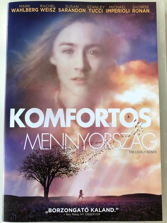 The Lovely Bones DVD 2009 Komfortos Mennyország / Directed by Peter Jackson / Starring: Mark Wahlberg, Rachel Weisz, Susan Sarandon, Stanley Tucci (5996051321223)