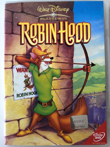Robin Hood DVD 1973 Walt Disney Classic / Directed by Wolfgang Reitherman / Starring: Peter Ustinov, Phil Harris, Brian Bedford, Terry-Thomas, Roger Miller (5996255717402)