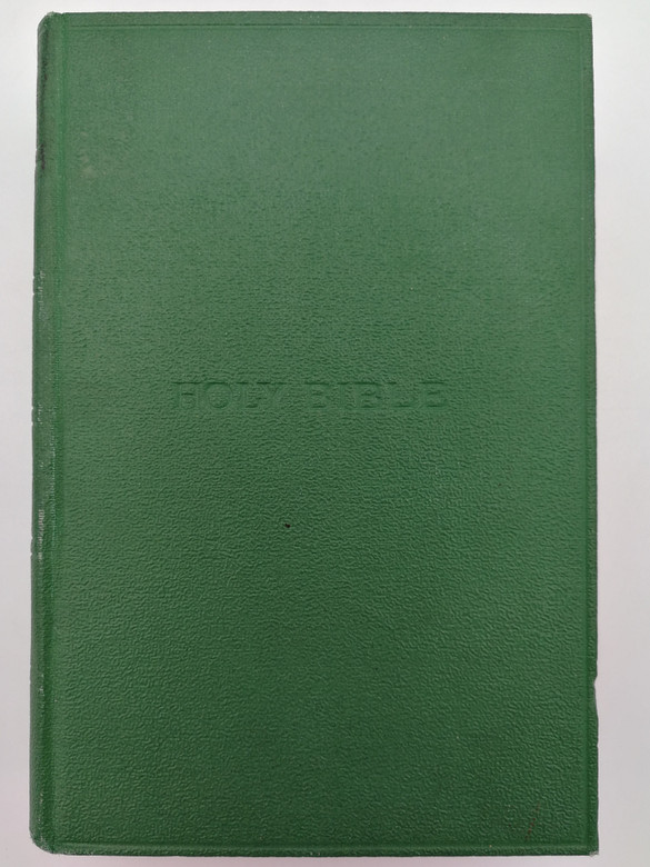 The Holy Bible (KJV) Green Hardcover - Red page edges / King James Version / British and Foreign Bible Society - Cambridge University Press / Bible Containing Old and New Testaments KJB 1611 (KJV1611Bible-Green)