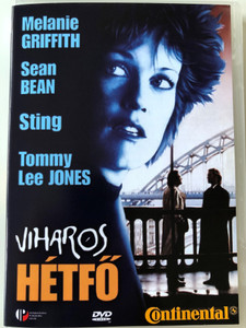 Stormy Monday DVD 1988 Viharos hétfő / Directed by Mike Figgis / Starring: Sean Bean, Melanie Griffith, Tommy Lee Jones, Sting (5999881066975)