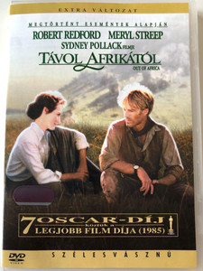 Out of Africa DVD 1985 Távol Afrikától / Directed by Syndey Pollack / Starring: Robert Redford, Meryl Streep (5999010441956)