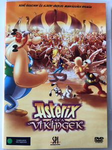 Asterix and the Vikings DVD 2006 Asterix és a vikingek / Directed by Stefan Jeldmark, Jesper Moller / Starring: Roger Carel, Jacques Frantz (5999544155459)