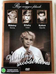 Úrilány szobát keres DVD 1937 Lady Seeks a Room / Directed by Székely István / Starring: Zilahy Irén, Somló István, Ajtay Andor, Kabos Gyula, Zilahy Irèn / Régi magyar filmek / Hungarian Audio Only (5999882685441)
