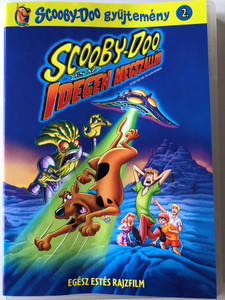 Scooby-Doo and the Alien Invaders DVD 2000 Scooby-Doo és az idegen megszállók / Directed by Jim Stenstrum / Voices of Scott Innes, Frank Welker, Mary Kay Bergman, B.J. Ward, Candi Milo (5999048919755)